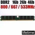 Memoria RAM 4 GB DDR2 8 GB 800 MHz 667 MHz 533 MHz/8g 4G ddr 2 8 GB 533, 667 de 800 ddr2 4 GB escritorio memoria. garantía de por vida