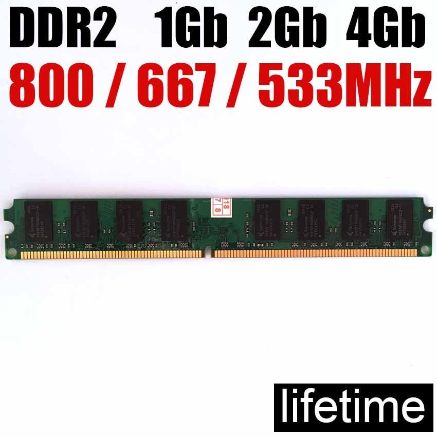 Arbeitsspeicher RAM 4 GB DDR2 8 GB 800 MHz 667 MHz 533 MHz / 8 GB 4 GB DDR2 8 GB 533 667 800 GB DDR2 4 GB Desktop-Speicher - lebenslange Garantie