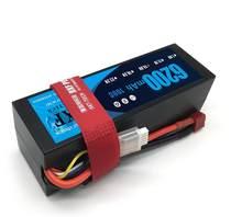 DXF POWER-Batería de polímero de litio para coche, barco, Dron, Robot, camión FPV, 6200mAh, Lipo 4S, 14,8 V, 100C, 200C