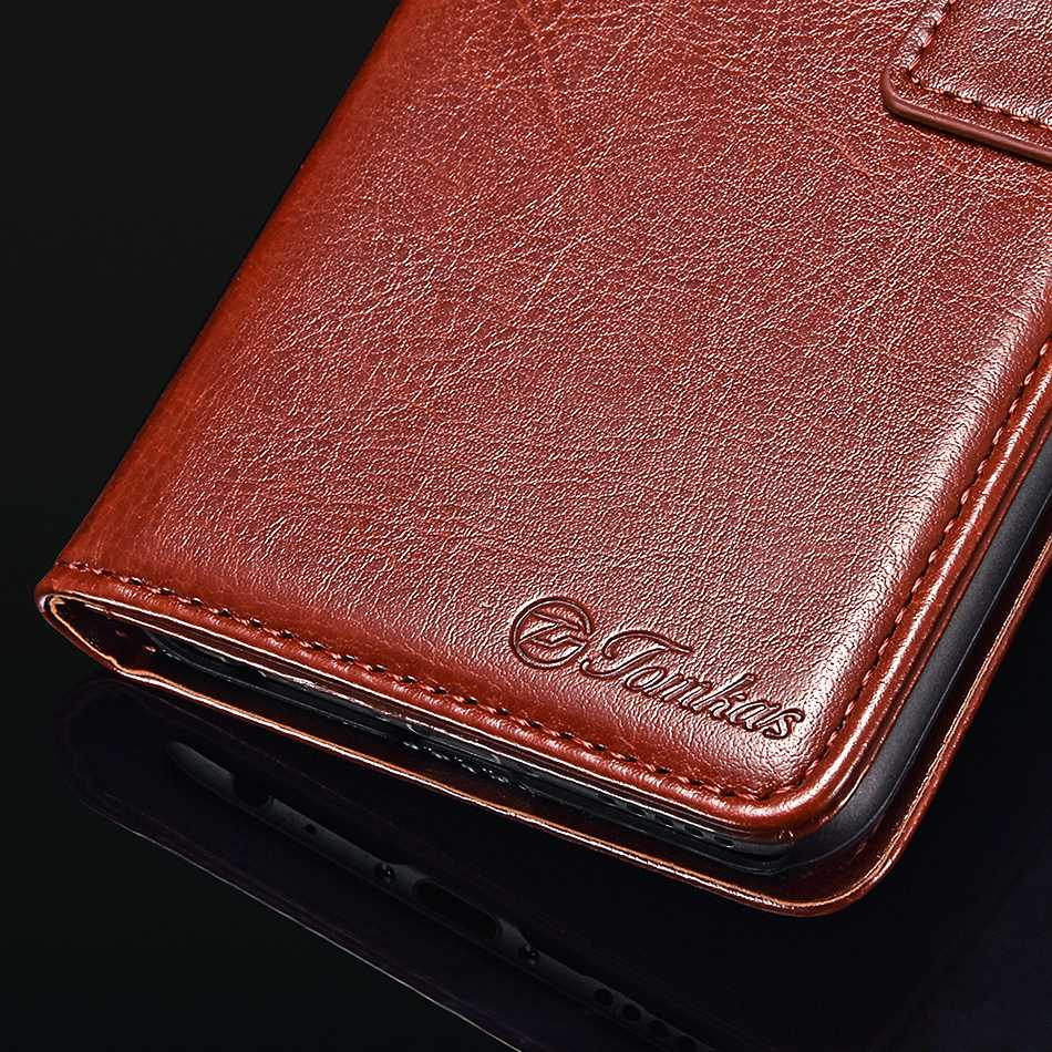 TOMKAS Pocophone F1 Case POCO F1 Global Flip Wallet With Stand Vintage Leather Silicone Back Cover Case For Xiaomi Pocophone F1 (16)
