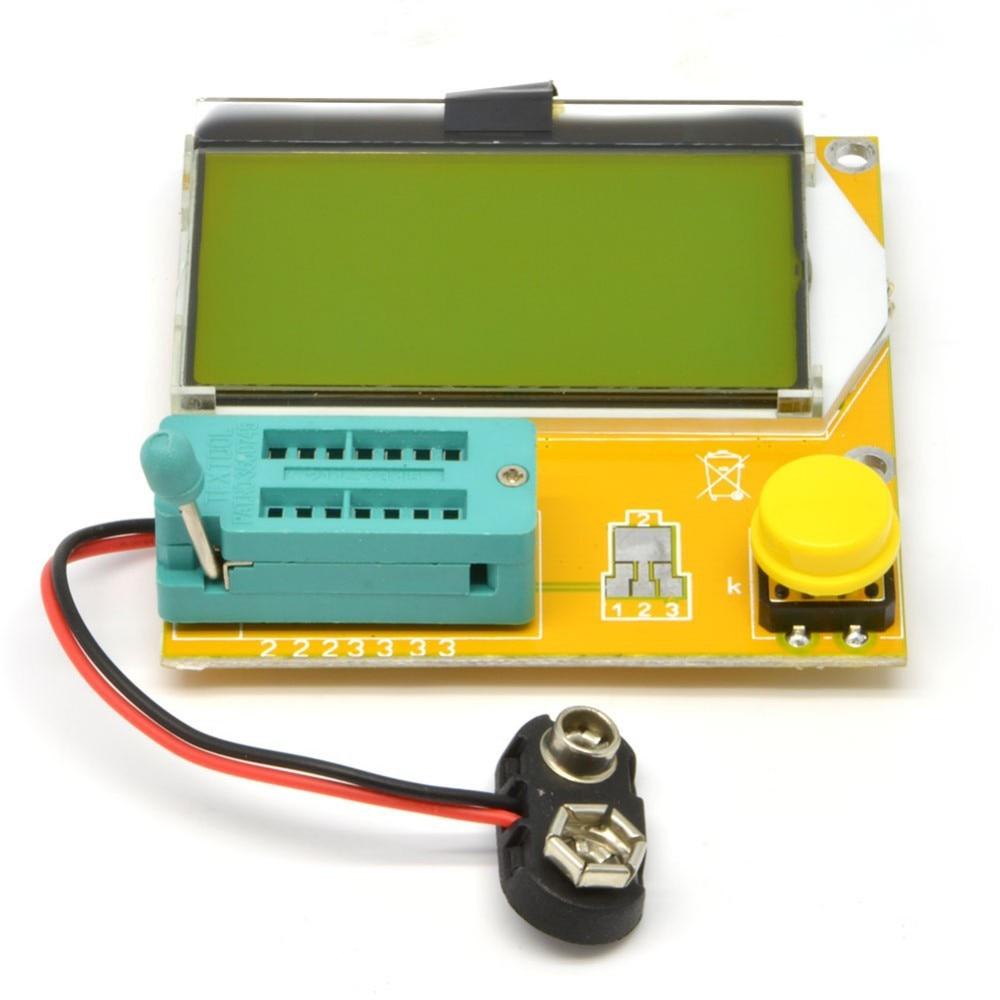 2017 Carburador Mega328 Smd/dip Transistor Tester Esr Inductance Resistor Diode Triode Capacitance Meter Mos Pnp Npn Mosfet стоимость