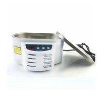 HIMOSKWA 600ML Mini Ultrasonic Cleaner Intelligent Digital Control Ultrasonic Cleaner Bath For Jewelry Glasses Cleaning 30W