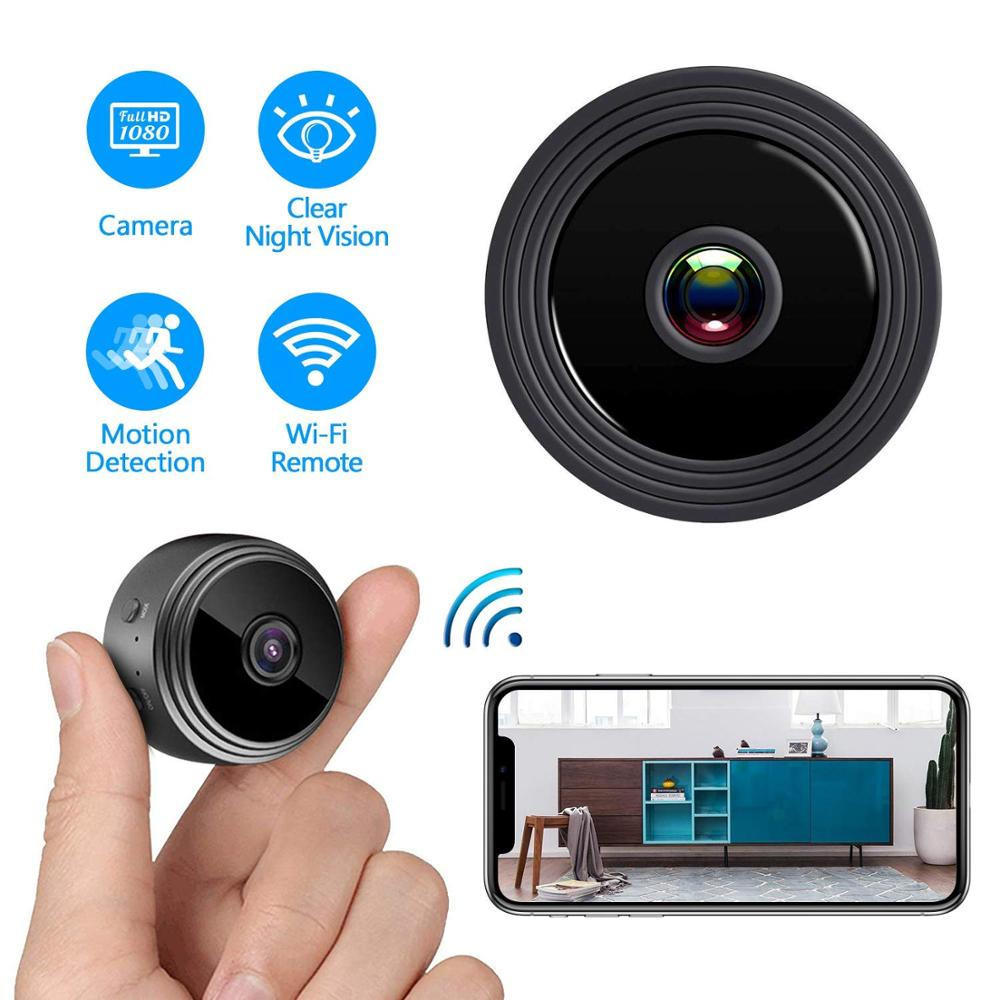 HD 1080P Mini Camera WIFI Camera With Night Vision And Motion Detection Remote View Wireless Home Security Surveillance Camera