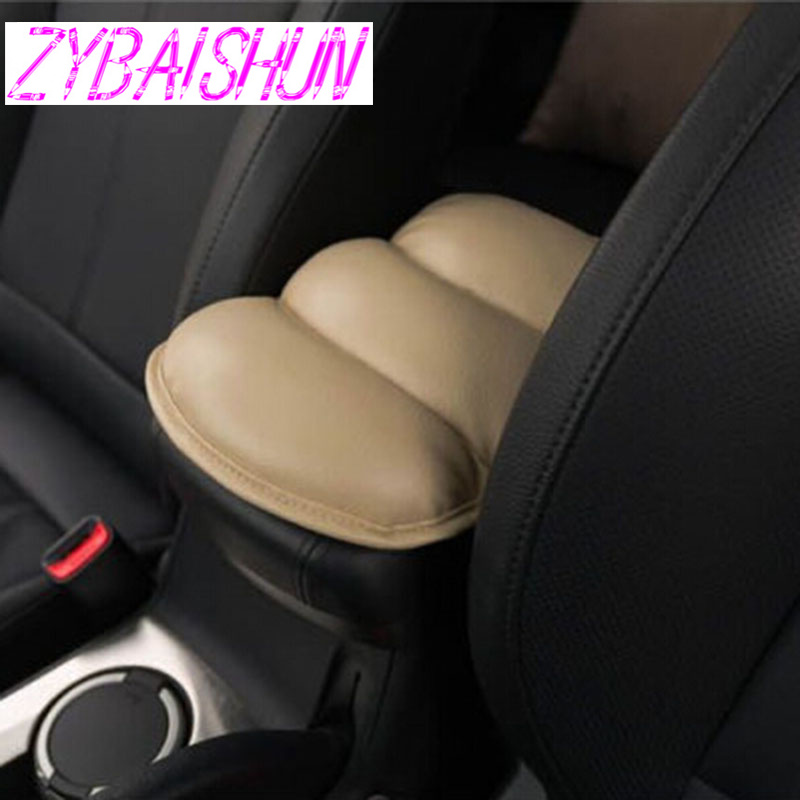 Car Seat Cover Soft Leather Auto Center Armrest Console Box Arm Protection Pad For Citroen C-quatre C-triomphe Picasso C1 C2 C3 A Wide Selection Of Colours And Designs Interior Mouldings Automobiles & Motorcycles