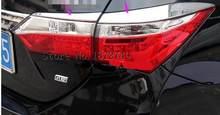 Автомобильные задние фары свет брови abs Хромированная декоративная