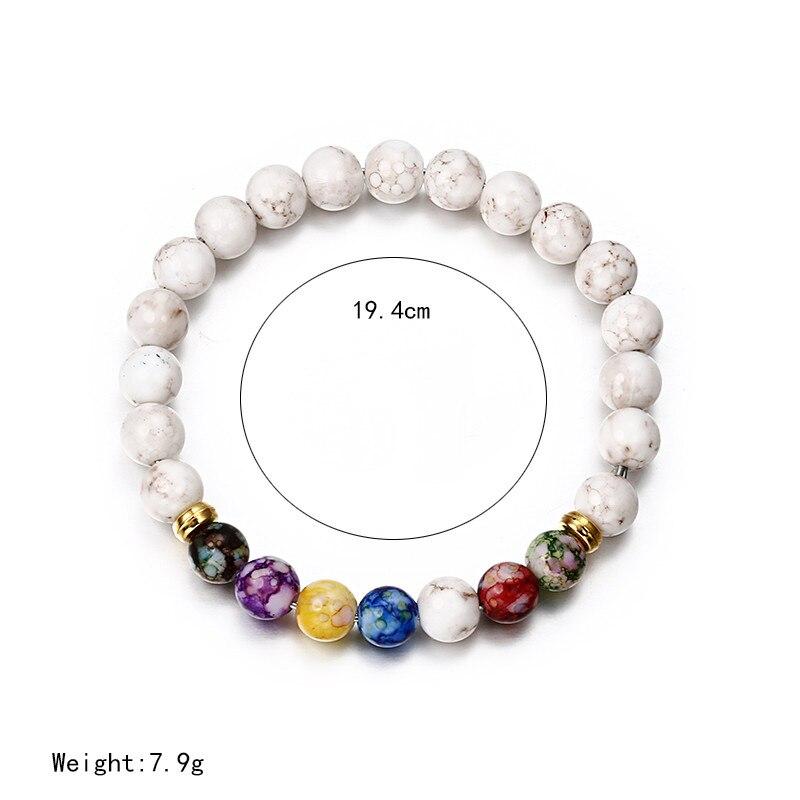 Браслет классический акриловый синий бисерный браслет для мужчин женщин лучший друг популярный A56