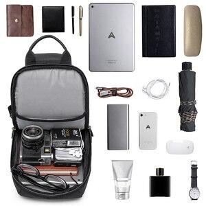 Image 4 - KAKA 럭셔리 브랜드 가슴 가방 USB 메신저 크로스 바디 가방 어깨 슬링 가방 방수 짧은 여행 휴대 전화 가방