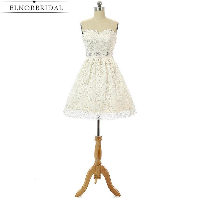 Īsas pludmales mežģīņu kāzu kleitas Plus izmērs 2019 Seksuālā līgavas vasaras kleita Mini Vestido De Noiva sieviešu kleitas