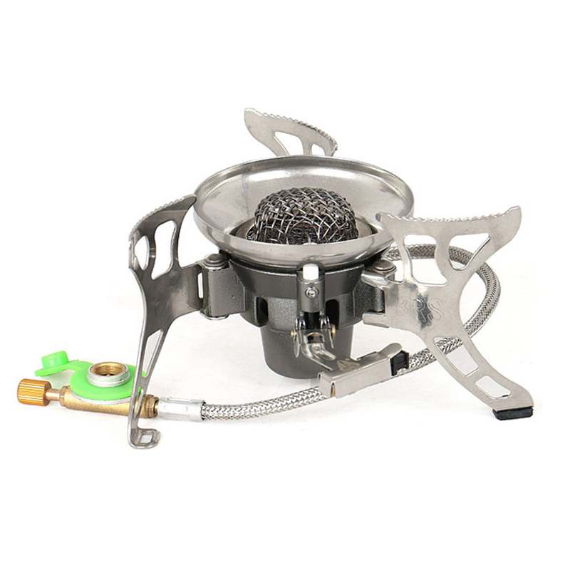 Windproof Big Power Split Type Outdoor Camping Picnic Cooker Gas Stove Auto ignition Infrared Heating Roasting