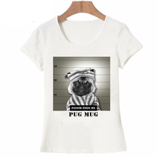 Summer Unique Police Chihuahua Design T Shirt For Women