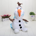 Cartoon 40cm Olaf bag Plush Toy Olaf Snowman anna elsa backpack plush doll Christmas Gift