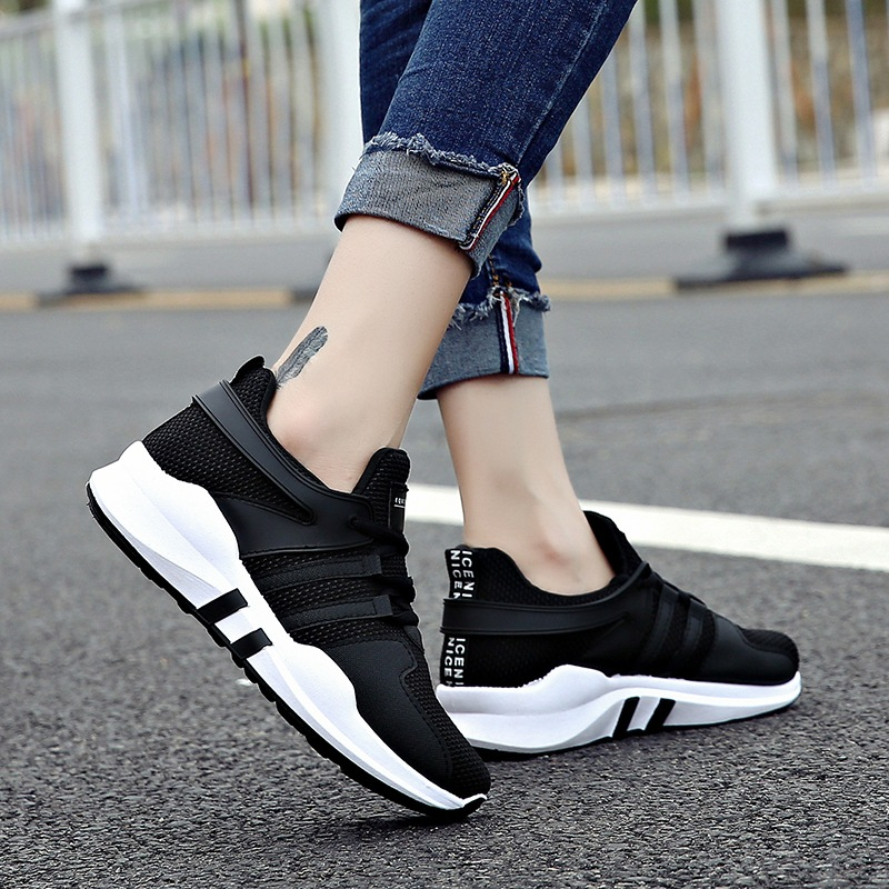 2018 Woman Running shoes Walking Athletic shoes light breathable sneakers sport shoes outdoor lace-up Ladies Shoes size 35-40