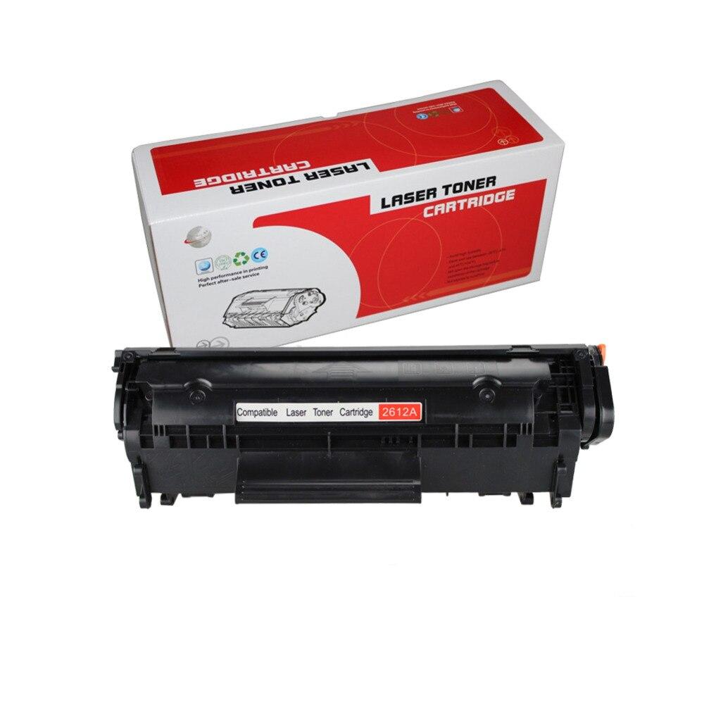 Q2612A q2612 12a 2612 cartucho de tóner compatible para HP LaserJet 1010, 1012, 1015, 1020, 3015, 3020, 3030, 3050, 1018, 1022 1022N 1022N