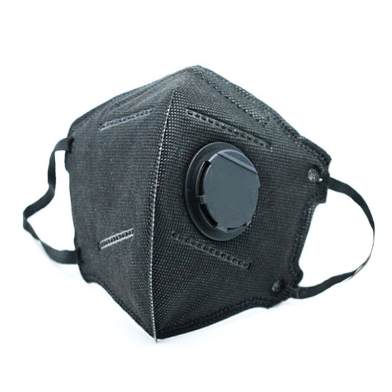 New High Quality Anti-haze Mouth Cycling Masks With Valve Washable Replaceable Filter Activated Carbon Folding Dust Mask#294351
