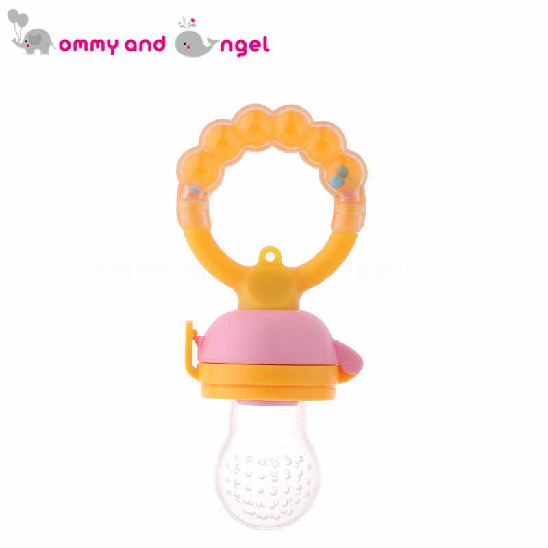 HOT SELLING Classic Baby Feeding Bottles Safety Fresh Food Fruits Milk Nibbler Feeder Feeding Tool (Size:S-M-L,3 Colour,PA-018)
