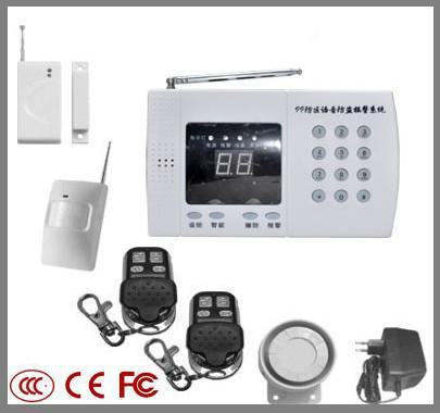 ФОТО  Wireless Home Security PSTN Alarm System + Auto Dialing ,LL-B2002(PSTN Alarm 99 Zones with keyboard)