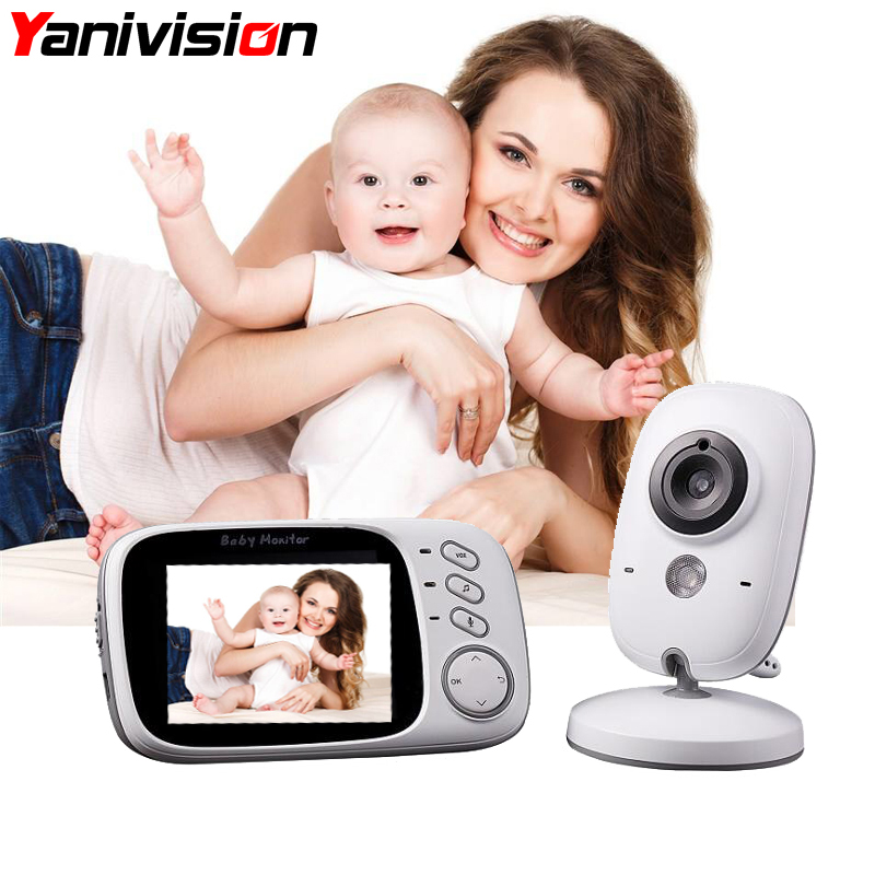 3 2 Inch Baby Monitor font b Wireless b font Video Color Baby Nanny Security Camera