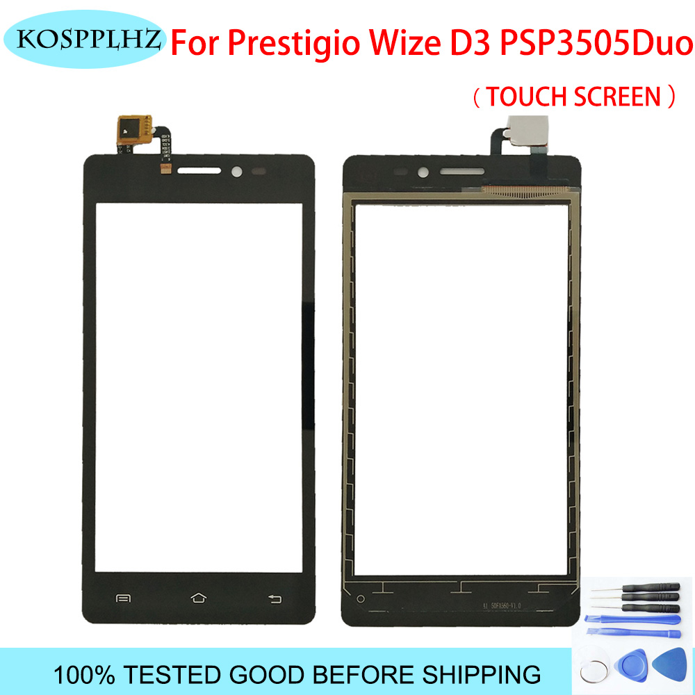 Touch Panel Sensor For Prestigio Wize D3 PSP3505duo psp3505 PSP 3505 DUO Front Glass Touch Screen Digitizer Touchscreen