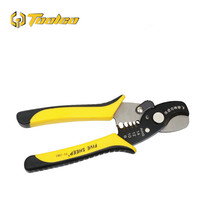 цена на Toolgo 7 Inch Multifunction Cable Wire Stripper Cutter Crimper Automatic Crimping Stripping Electric Plier Tools