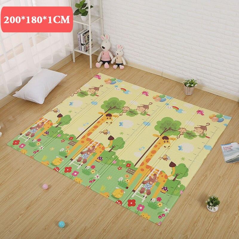 180*200*1 cm tapete infantil bébé tapis tapis de jeux jouets pour enfants enfants de tapis tapis de jeu doux étage