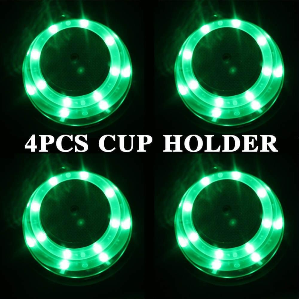 4pcs Marine 12V LED Stainless Steel Cup Drink Holder Boat RV - Aksesori dalaman kereta - Foto 3