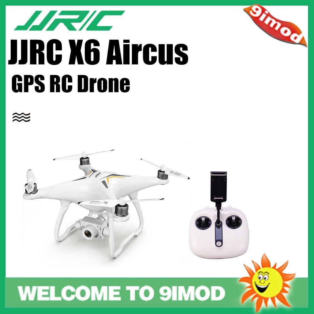 Original JJRC X6 Aircus 5G WIFI FPV HD 1080P Grande Angular Câmera GPS Estabilização Gimbal Brushless RC Zangão
