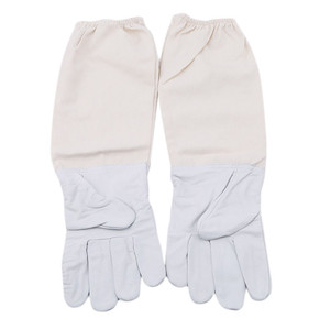 Image 2 - 2019 cant miss recommended Beekeeping Gloves Goatskin Bee Keeping with Vented Beekeeper Long Sleeves beekeeping supplies
