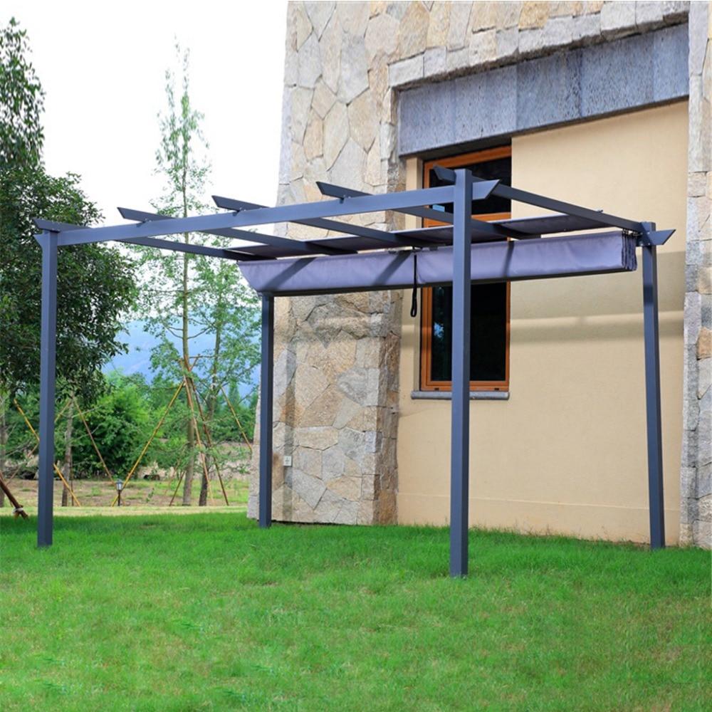2.8*4 meter deluxe strong practicability outdoor garden gazebo tent patio pavilion carport for bike-in Gazebos from Home u0026 Garden on Aliexpress.com ... & 2.8*4 meter deluxe strong practicability outdoor garden gazebo ...
