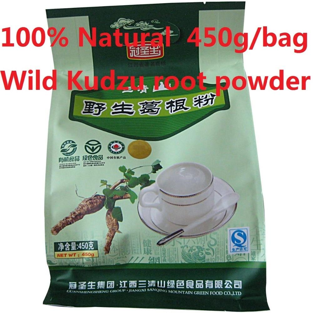 450g/bag economical packing!100% Natural and organic tea Kudzu root powder,HACCP,ISO 100 natural piper methysticumkava root