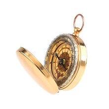 Латунный навигация компас магазин золотой карманный продажи туризм отдых портативный