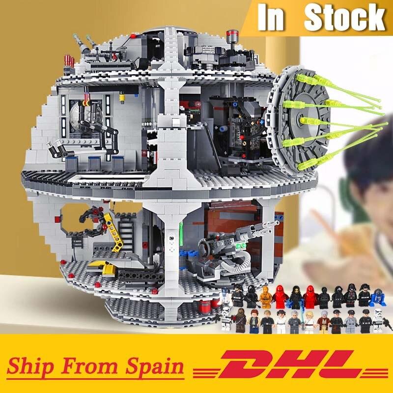 Die Stern 05063 Wars UCS Death Star Modell Kompatibel mit Legoings 75159 Bausteine Ziegel Pädagogisches Kinder Geschenke-in Sperren aus Spielzeug und Hobbys bei  Gruppe 1