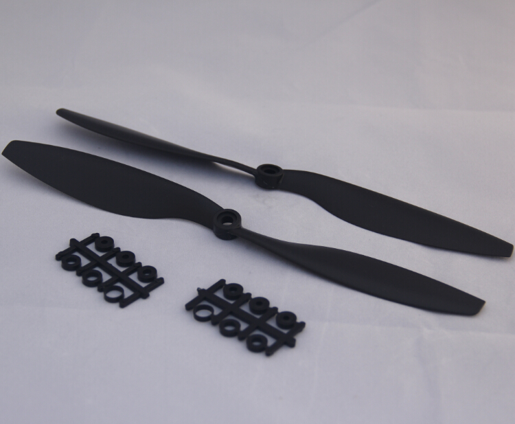 <font><b>10x4.5</b></font> CW/CCW Propeller for Multicopter Quadcopter FPV 5pair/Lot 10pcs of 1045 Props ABS image
