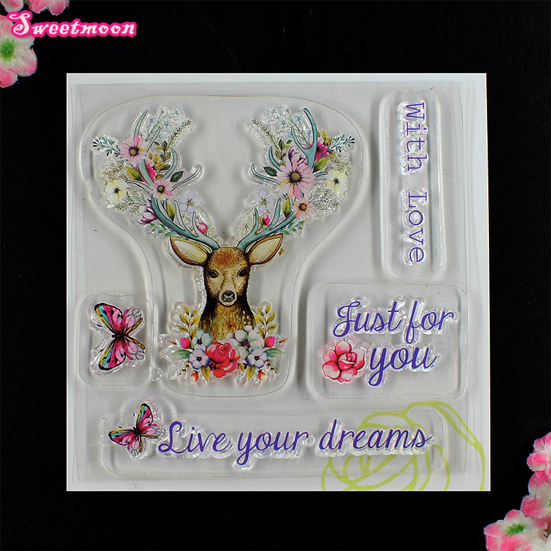 live your dream Scrapbook Clear Stamp photo cards account rubber stamp  Embossing Folder card Stamp thank you my friend you are the best scrapbook clear stamp photo cards account rubber stamp embossing folder card stamp
