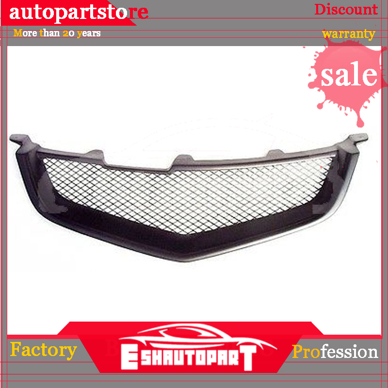 Sport Mesh Grill Grille Fits Acura TSX Honda Accord Euro R