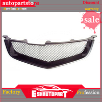 Sport Mesh Grill Grille Fits Acura TSX Honda Accord Euro R 04 05 2004 2005