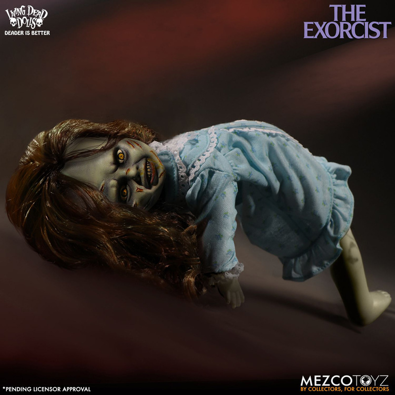 Mezco vivo morto bonecas o exorcista terror