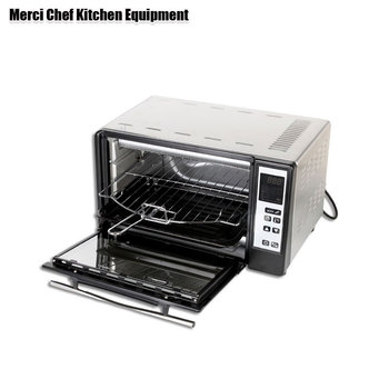 220V Food Processor 10L Capacity Electric Oven Smokehouse Pizza Oven LED Display horno electrico toaster oven