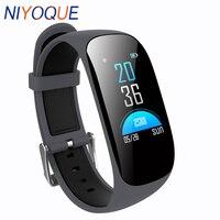 NIYOQUE Smart Wristband Heart Rate Monitor Blood Oxygen Pedometer Bracelet Fitness Tracker Band Waterproof Sport Smart Watch