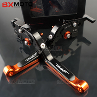 Motorcycle Lever CNC Adjustable Foldable Lengthening Aluminum Brake Clutch Levers For Ktm Rc 390 Duke
