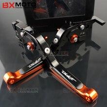 Motorcycle lever CNC Adjustable Foldable Lengthening aluminum brake clutch levers For ktm duke 125 200 390 duke 2014-2017 2018