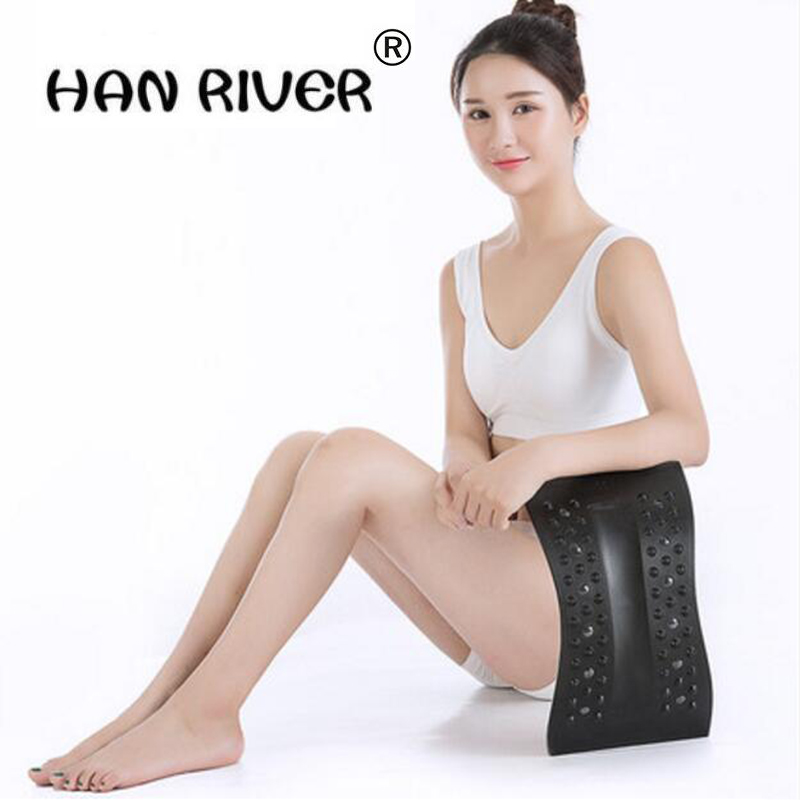 HANRIVER Electric heat protective waist disc protrude Lumbar Support Waist Neck Relax Waist pain massager Lumbar spine orthoticsHANRIVER Electric heat protective waist disc protrude Lumbar Support Waist Neck Relax Waist pain massager Lumbar spine orthotics