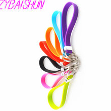 New Silicone Key Long Bracelet Key Spoon Portable Keychain for Volkswagen vw POLO Tiguan Passat CC Golf GTI R20 R36 EOS Scirocc(China)