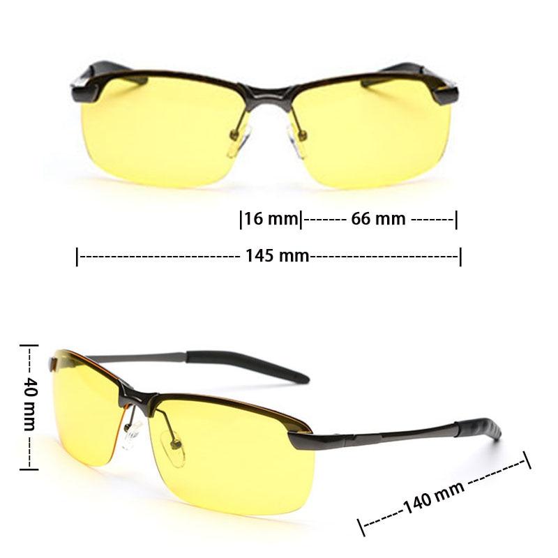 VEGA Polarized Yellow Driving Solglasögon på natten Högkvalitativ - Kläder tillbehör - Foto 6