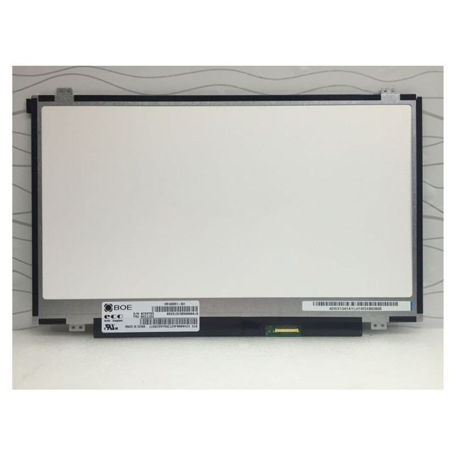"""For BOE HB140WX1 301 LED Screen LCD Display Matrix for Laptop 14.0"""" HD 1366X768 30Pin Matte Replacement"""