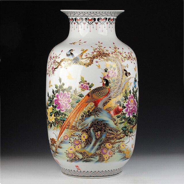 Antique Chinese Vase Ceramics Icing On The Cake Of Large Vase