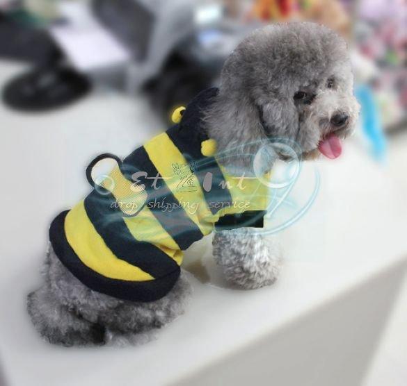 Wholesale Pet Dog Puppy Dress Cute Honey Bumble Bee Design