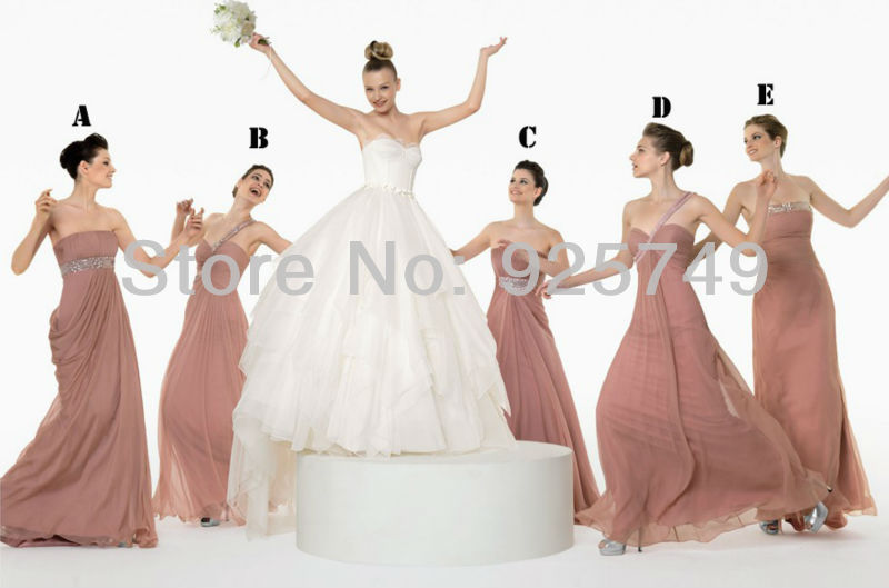 Free Shipping Sexy Sweetheart A Line Floor LengthOne Shoulder Chiffon  Purple Silver junior Bridesmaid dresses 2013 New Arriva-in Bridesmaid  Dresses from ... f0dfae9b7b2f