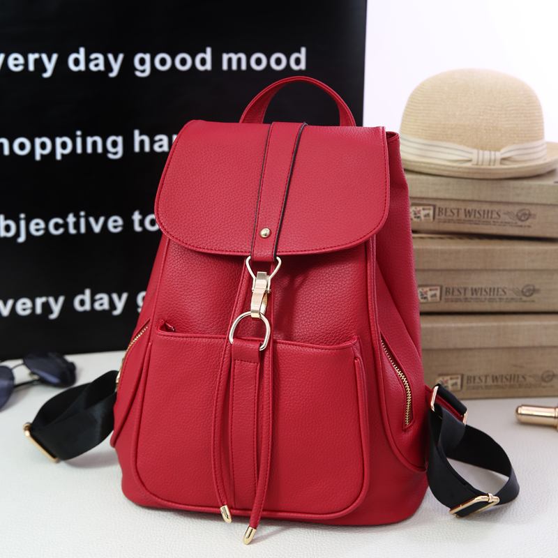 Backpack bag new spring and summer 2016 new tide female backpack student han edition female fashion