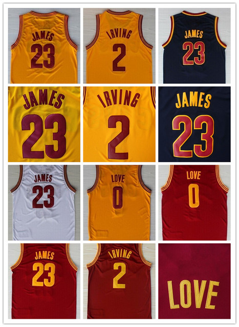 official photos f8898 89334 US $16.99 |Youth C leveland Jersey #23 LeBron James,Kids #0 Kevin Love  Jersey,Boys #2 Kyrie Irving Basketball Jersey CAVS Young Children-in  Basketball ...