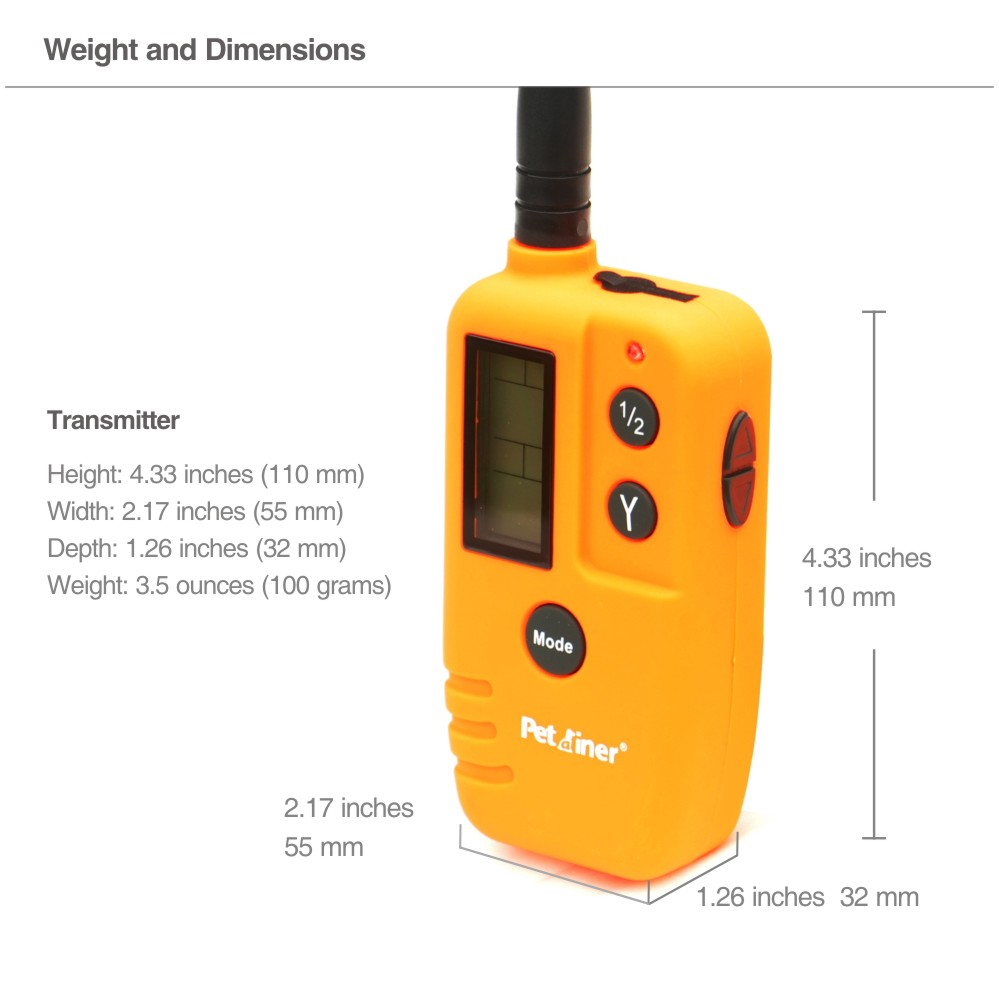 Image 4 - PET910 Extra Remote Transmitter-in Training Collars from Home & Garden